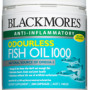Blackmores odourless fish oil 200 capsules