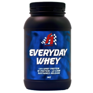 F1 Nutrition Everyday Whey – 100% Whey Protein – Hi Protein – Lo Carb – Sustained Release -1KG