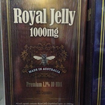 Top Life Royal Jelly 1000mg Premium 1.1% 10HDA – 365 Capsules