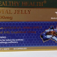Wealthy Health Royal Jelly 1000mg Guaranteed 6% 10HDA Input – 30 Capsules