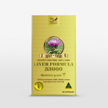 Well being LIVER FORMULA 33000 Liver Detox SILYBUM MARIANUM extract